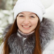 Stock Photo: Winter portrait of girl