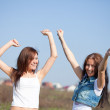 Happy women together — Stock Photo #9007859