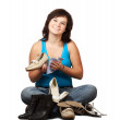 Womcleans footwear — Stock Photo #9007864