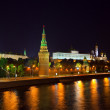 Moscow Kremlin in night. Russia — Stock Photo #9008196