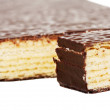 Stock Photo: Wafer layer cake