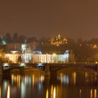 Night view of Prague — Stock Photo