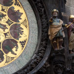 Astronomical Clock in Prague — Stock Photo #9008367