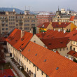 Royalty-Free Stock Photo: Top vew of  Prague