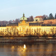 Prague Castle from Vltavside — Stock Photo #9008415