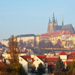 View of Prague Castle - Stock Photo