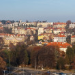 Stock Photo: Panoramof residential district in Prague