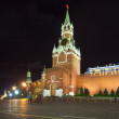 Spasskaya Tower of Moscow Kremlin — Stockfoto