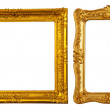 Two gold frames — Stock Photo #9008686