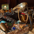 Stockfoto: Old treasure chests