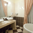 Stock Photo: Interior of bathroom