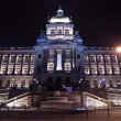 Stock Photo: National Museum in night. Prague
