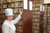 Enfermera historial búsqueda — Foto de Stock