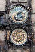 Astronomische klok in Praag — Stockfoto