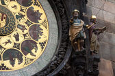 Astronomical Clock in Prague — Стоковое фото