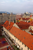Top vew of Prague — Stock Photo