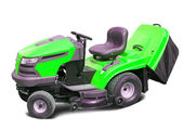 Lawn mower over white — Stock Photo