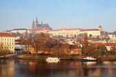 View of Prague, Czechia — Stok fotoğraf