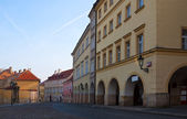 Calle de praga, república checa — Foto de Stock