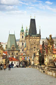 Charles bridge. Prague, Czech Republic — Stock Photo
