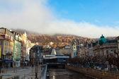 View of Karlovy Vary. Czech Republic — Zdjęcie stockowe