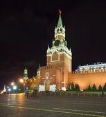 Spasskaya Tower of Moscow Kremlin — Stock Photo
