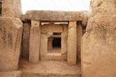 Prehistoric Mnajdra temples. Malta — Stock Photo