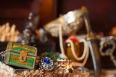 Schatkisten met juwelen — Stockfoto