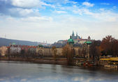 布拉格的视图。czechia — 图库照片