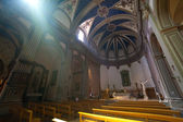 Tossa de mar kilisede iç — Stok fotoğraf