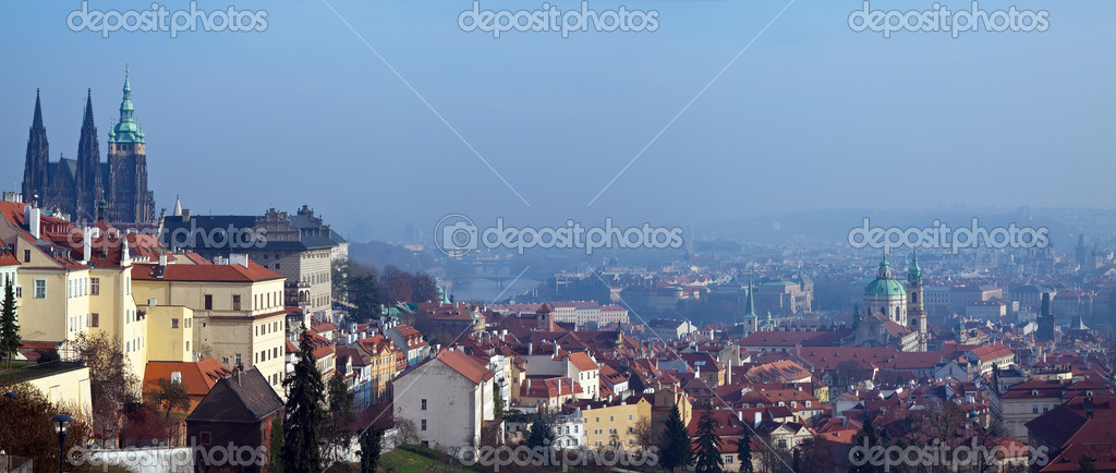 Panorama of Prague, Czech Republic — Stock Photo #9008441