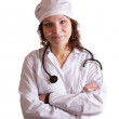 Portrait of female doctor — Stockfoto #9892197