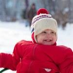 Portrait of happy toddler — Stock Photo #9912129