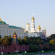 Moscow Kremlin in sunset — Stock Photo