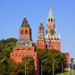 Towers in Moscow Kremlin — Foto de Stock