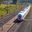High-speed  train — Stockfoto