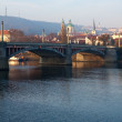 Manosuv bridge. Prague, Czechia — Stockfoto #9913255