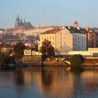Stock Photo: View of Prague, Czechia