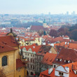 Stockfoto: Top view of Prague