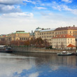 Prague from Vltava side — Stock Photo #9913275