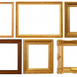 Stock Photo: Set of picture frames