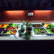 Foto Stock: Vegetables in buffet