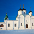 Foto Stock: Spassky Cathedral at Murom in winter. Russia