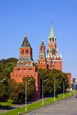 Towers in Moscow Kremlin — Stock Photo
