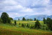 Simple mountains landscape — Stock Photo