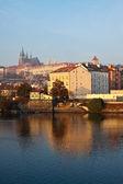 Weergave van praag, tsjechië — Stockfoto