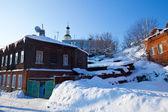 Old street at Vladimir — Stock Photo