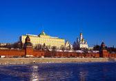 Moskauer kreml im winter — Stockfoto