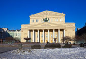 Teatro Bolshoi, em Moscou, Rússia — Fotografia Stock