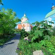 Old orthodox church on a summer day — Stock Photo